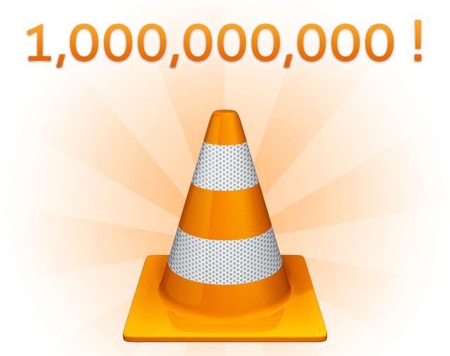 1 Bilion Download  VLC - fedorafans.com