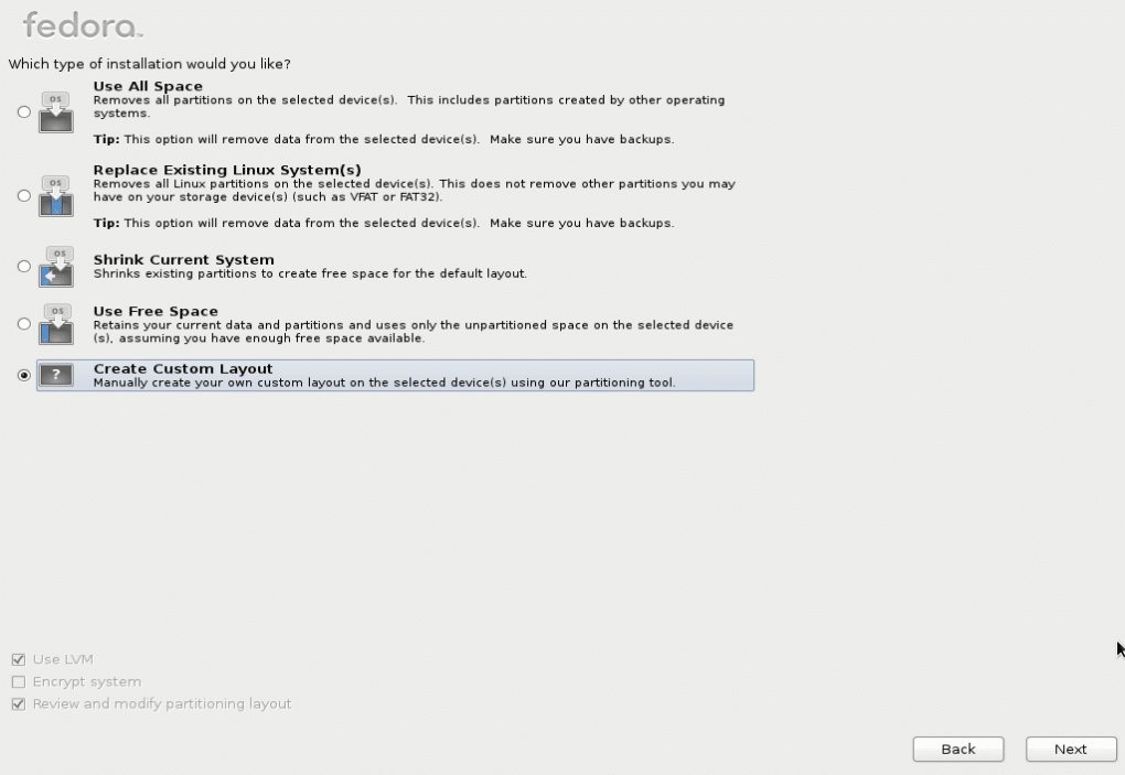 11-type of install-fedorafans.com