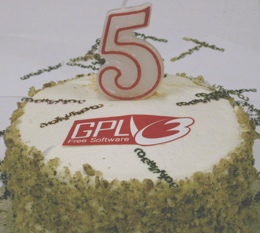 GNU GPLv3 Birthday - fedorafans.com