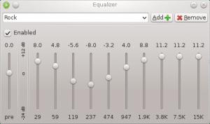 exaile-Equalizer