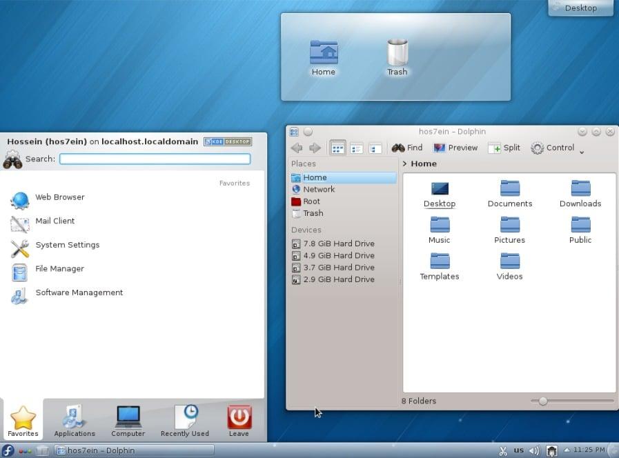 27-KDE Desktop-fedorafans.com