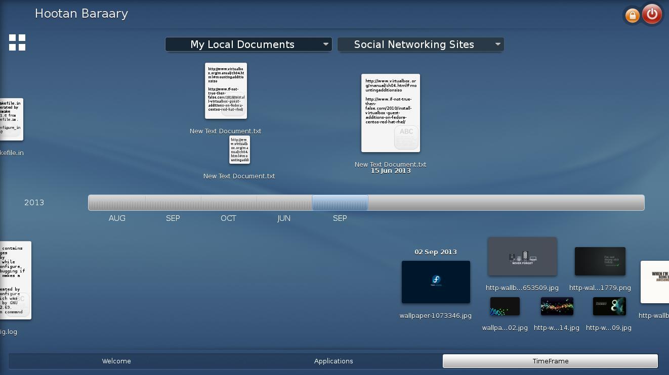 Rosa-launcher-timeframe-documents-menu – fedorafans.com