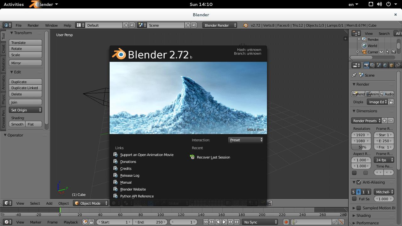 Blender_fedorafuns.com