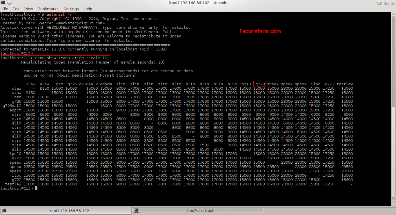 asterisk-cli-codec-g729
