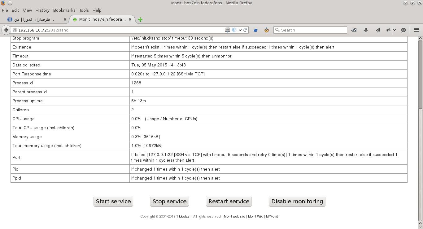 monit-panel web