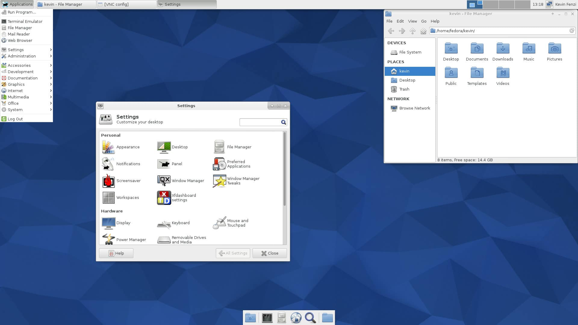 screenshot-xfce