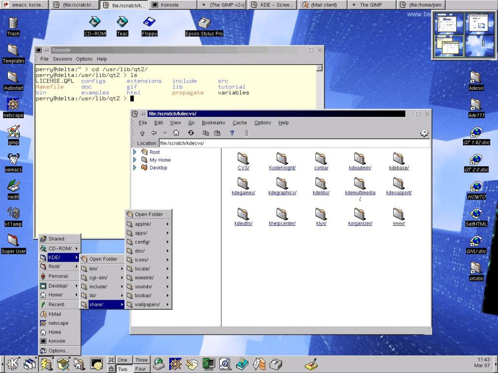 KDE-1.1-fedorafans.com