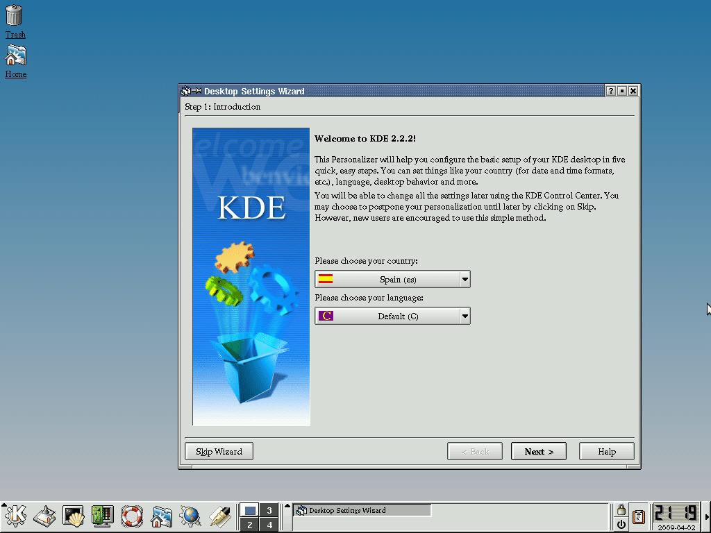 KDE-2.2-fedorafans.com