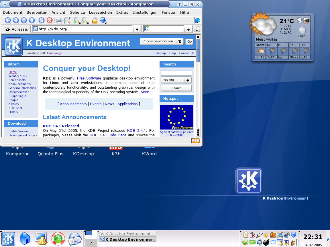 KDE-3.4-fedorafans.com