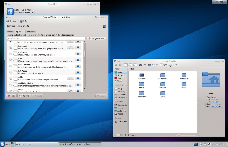 KDE-4.10-fedorafans.com