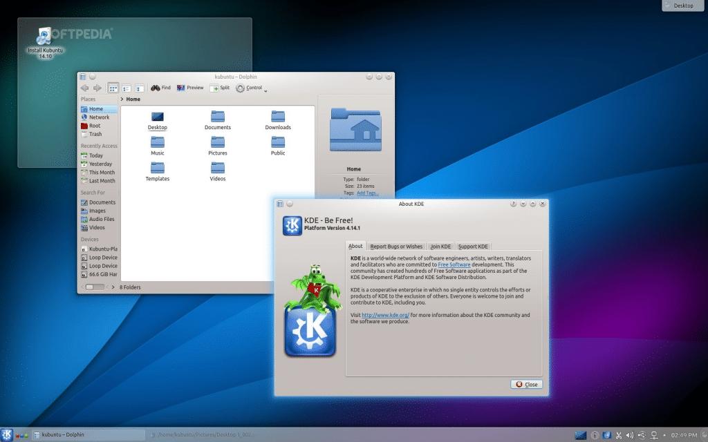 KDE-4.14-fedorafans.com