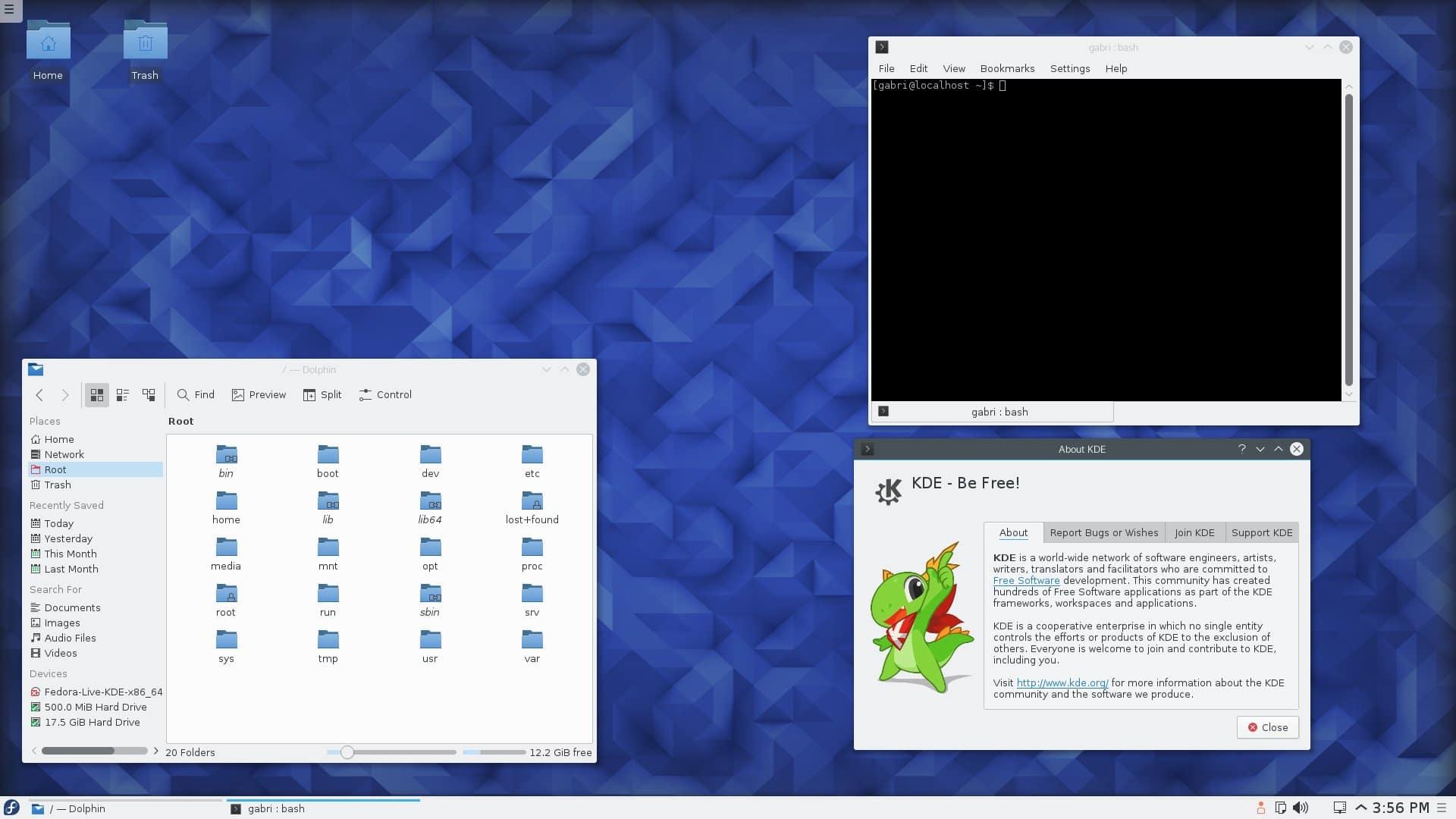 Fedora23-KDE-fedorafans.com