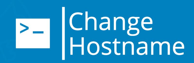 change-hostname