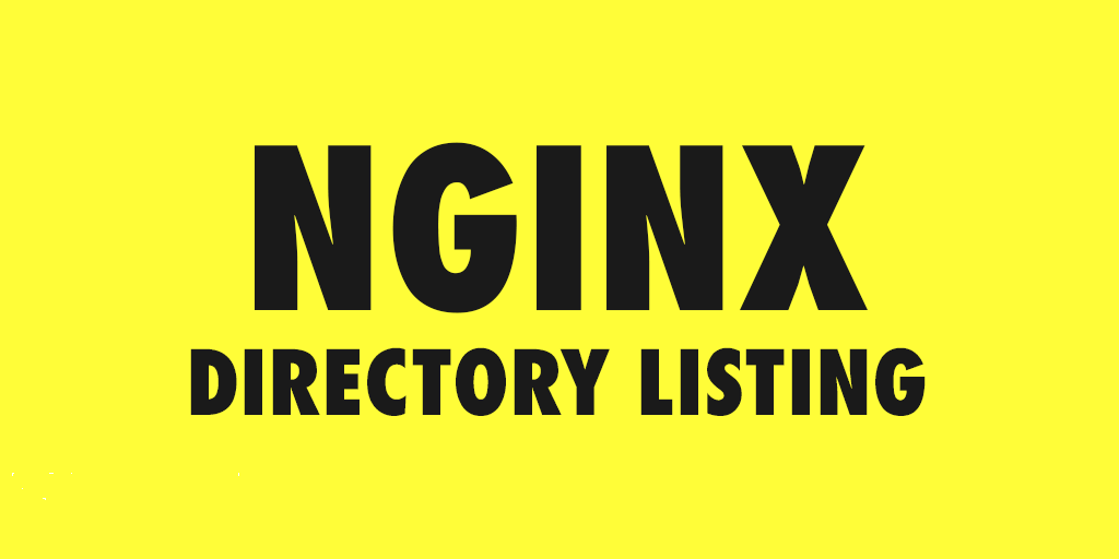 Nginx-Directory-Listing