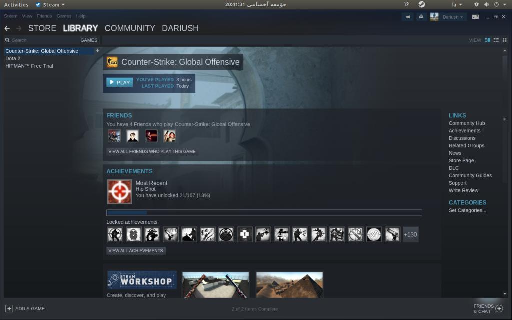 نرم افزار Steam