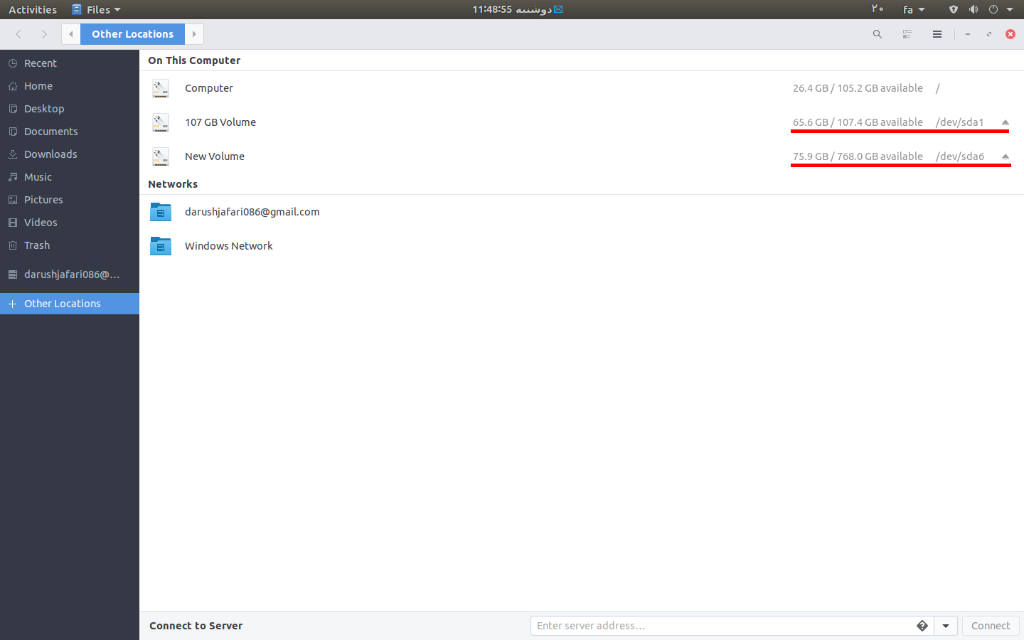 gnome file manager